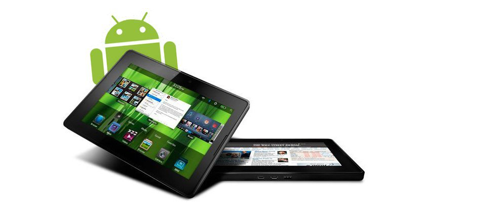 How to Sideload Android Apps on a Blackberry Playbook