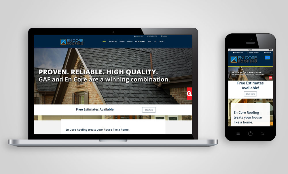 EnCore-Roofing-Website