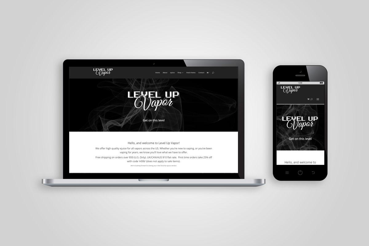 Level-Up-Vapor-Website